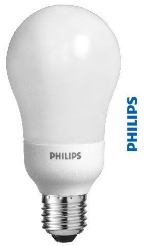 Standard A Shaped CFL Light Bulb - Philips