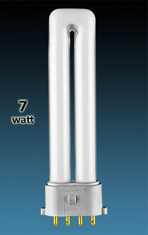 Pin Based - CFL Plug In - 7w - SINGLE TWIN TUBE With 4 Pin Base