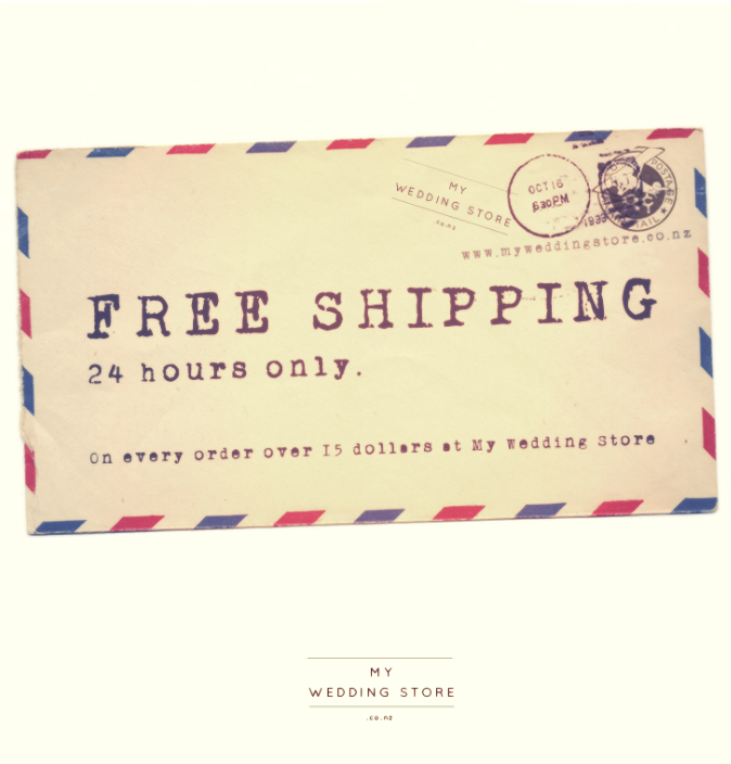Free Shipping for 24 Hours! Don't miss...