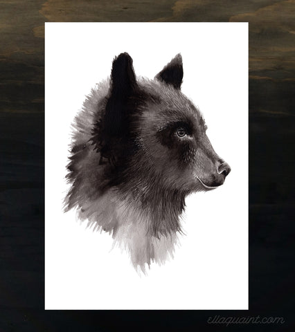 Bear - an open edition fine art print