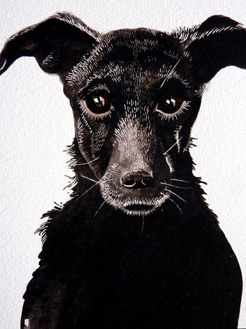 Black Dog - a limited edition Dark Beastie print