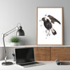 Magpie - a limited edition Dark Beastie print