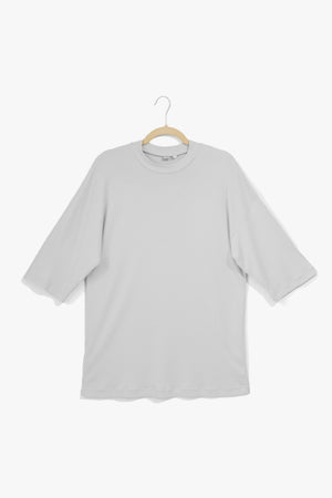 Cloud Gray Elbow Tee