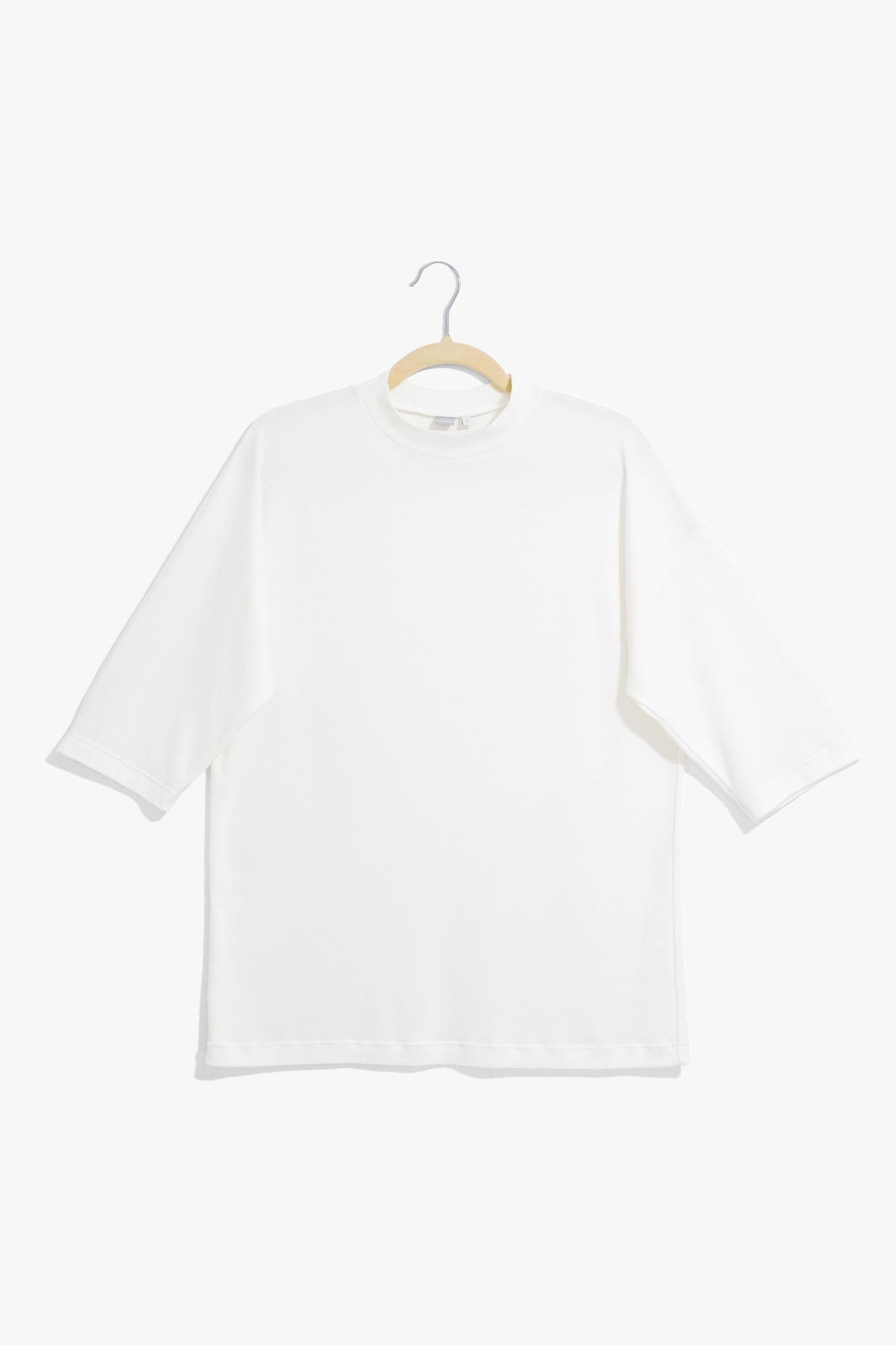 Natural White Elbow Tee