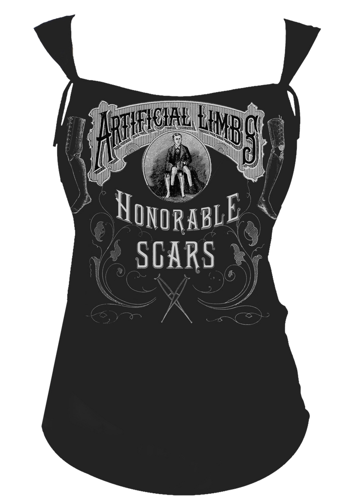 Honorable Scars Rocker Tee