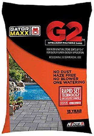 Alliance Gator Maxx G2 Intelligent Polymeric Sand( Black Diamond) 50lbs Bag