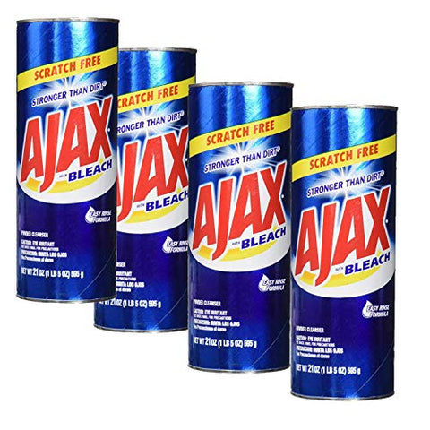 Ajax All-Purpose Powder Cleaner with Bleach 21 oz
