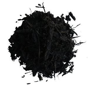 Black, Brown, or Red Dyed Mulch