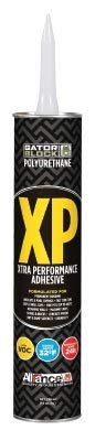 Gator Block Bond XP Polyurethane Adhesive, Low VOC 10 Ounce Tube