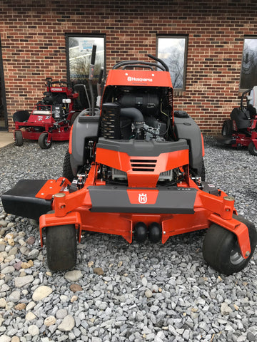 Husqvarna V548 or V554, Commercial Stand on Zero Turn On Mower