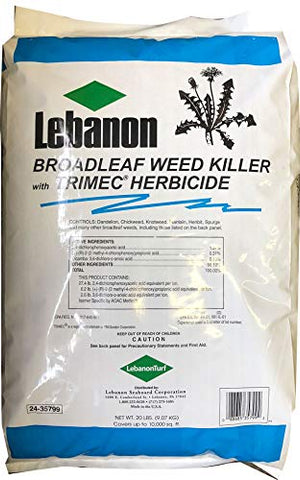 Lebanon TRIMEC 1.81% Broadleaf Herbicide (20 Pound Bag