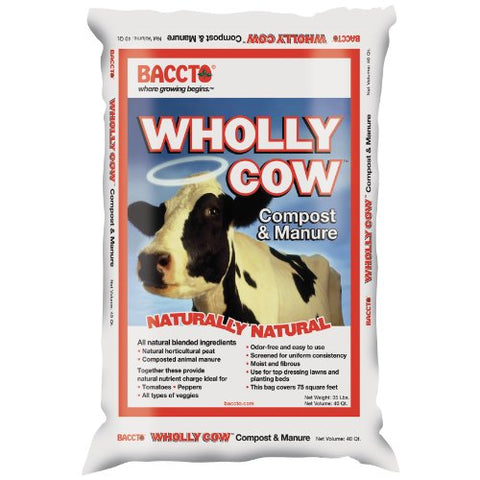 Michigan Peat Wholly Cow Compost and Manure