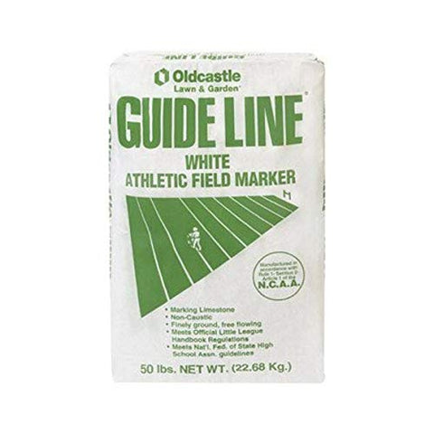 Oldcastle Guide Line White Athletic Field Marker