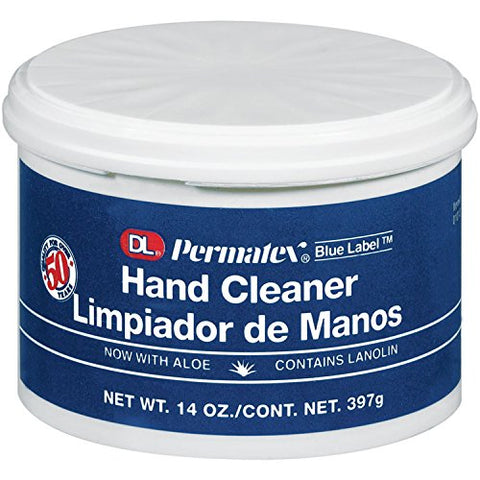 Permatex DL Blue Label Cream Hand Cleaner - 14 oz (12 Pack)
