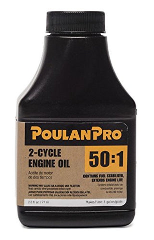 Poulan Pro 50:1 2-Cycle Oil