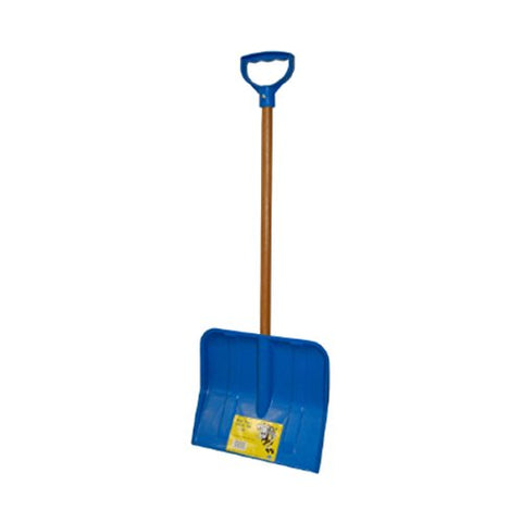 Rugg 227P 227P-S Childrens Poly Snow Shovel, 3.00 x 12.00 x 32.00 inches, Blue