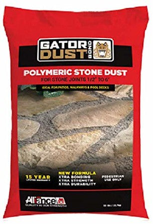 Alliance Gator Polymeric Stone Dust Bond 50lbs (Gray)