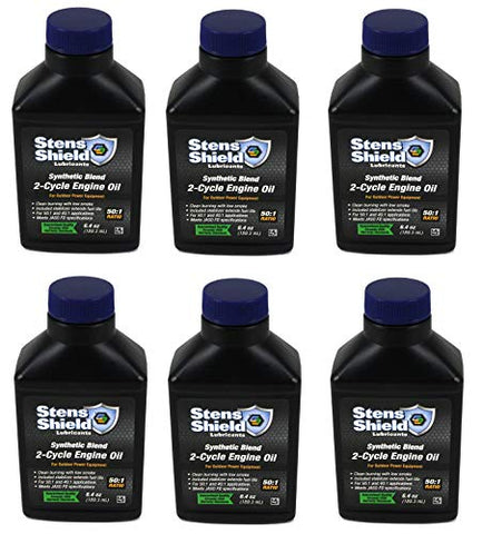 Stens 50:1 2-Cycle Oil Mix Synthetic Blend 6.4 oz