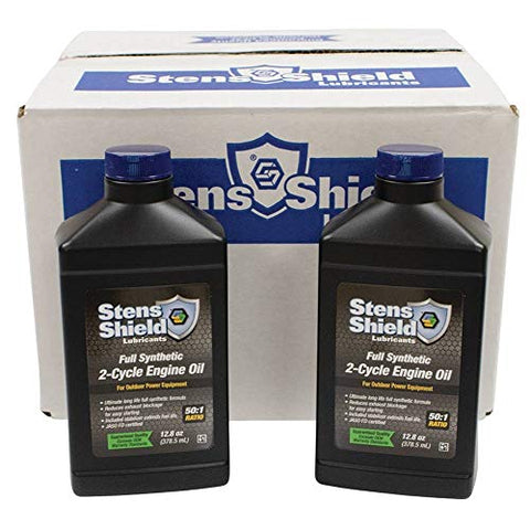 Stens 770-128 2-Cycle Engine Oil, Black…