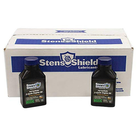 Stens 770-260 2-Cycle Engine Oil, Black…