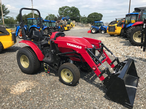 Yanmar YT235 Tractor with YL310 Loader
