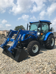 New Holland Workmaster 75 Cab Tractor with 555LU Loader