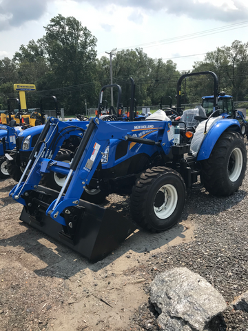New Holland Workmaster 75 Tractor with 555LU Loader