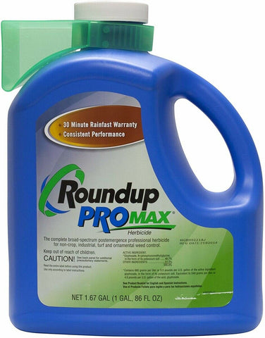 Round Up Pro Max 48.7% 1.67 Gallon Jug.