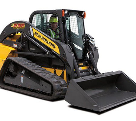 Full Size Skid Steer with Tracks