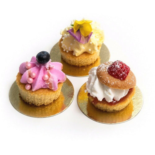 Premium Mini Double Sided Silver/Gold Cake Boards