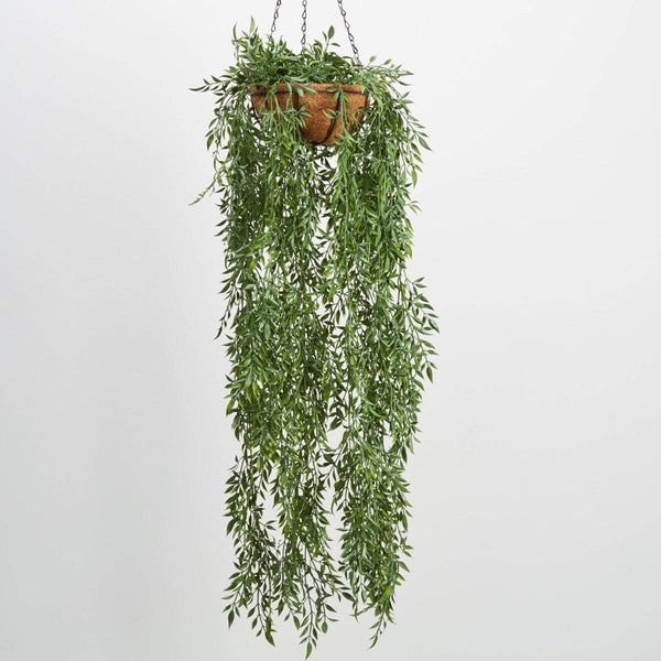 Long Stem Leaf Hanging Basket Hanging Plants