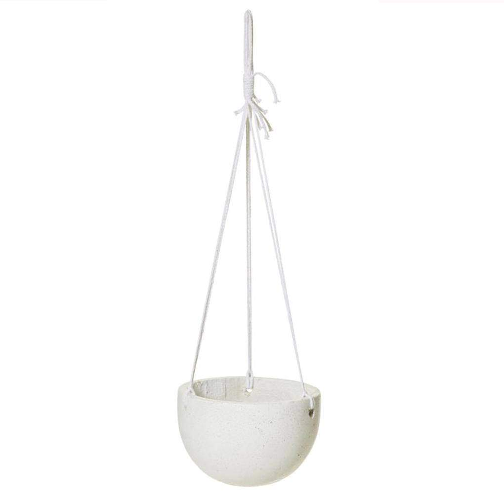 Round Hanging Bowl Single Pots