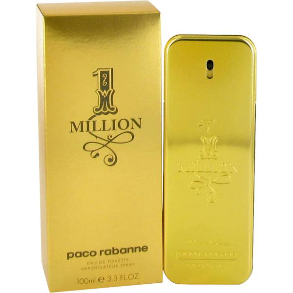 Paco Rabanne 1 Million Eau De Toilette for Men 100mL-CK Liquidation