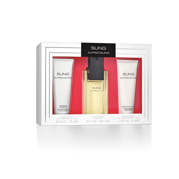 Sung by Alfred Sung 3 Piece Gift Set for Women