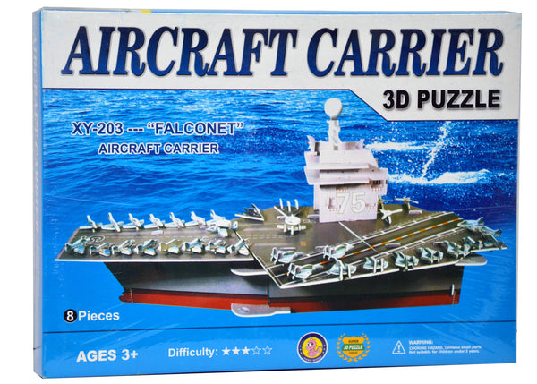 Aircraft Carrier 3D Puzzle Falconet
