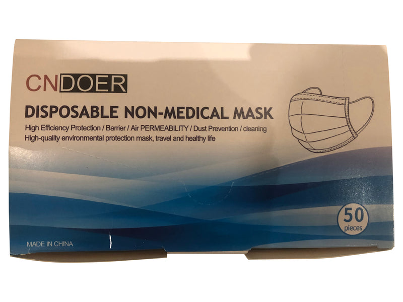 Disposable Non-Medical Mask (50 pack)