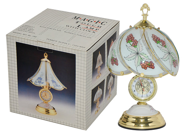 MAGIC Touch Lamp With Clock