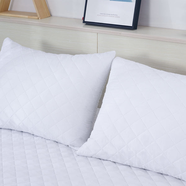 Hypoallergenic Waterproof Pillow Protector - Pack of 2 - {product_type] | Grover Essentials