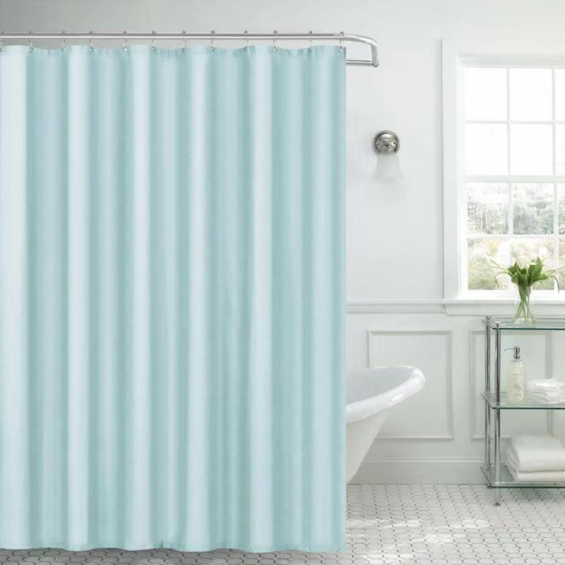 Embossed Microfiber Shower Curtain - {product_type] | Grover Essentials