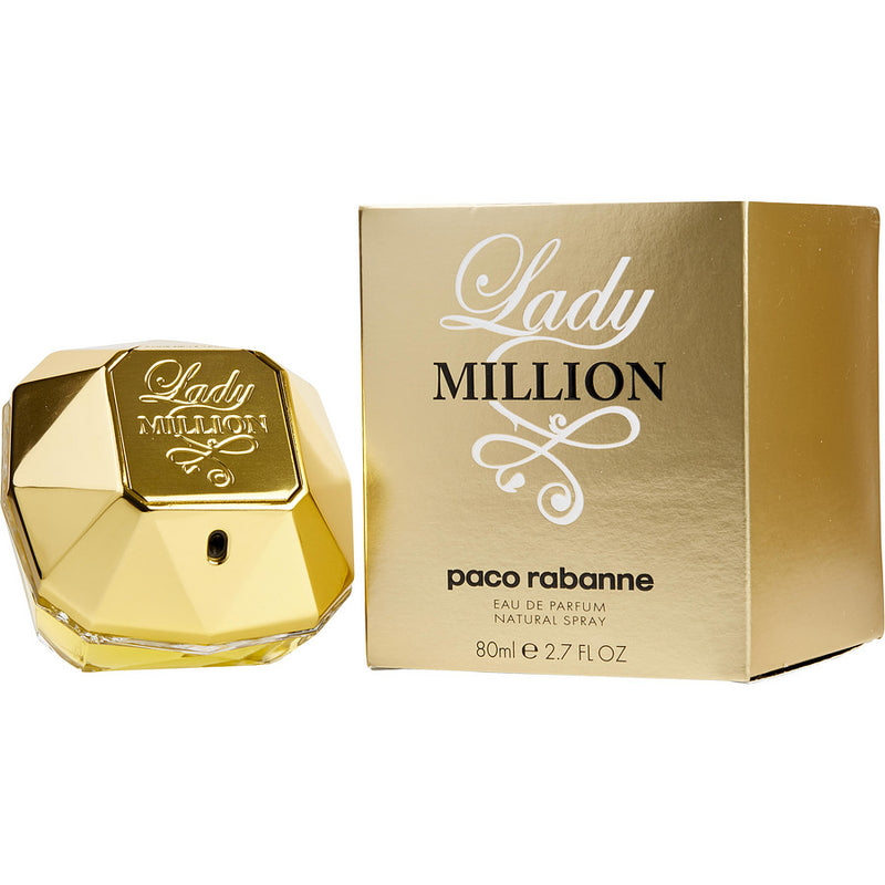 Paco Rabanne Lady Million Eau De Parfum for Women 80mL-CK Liquidation