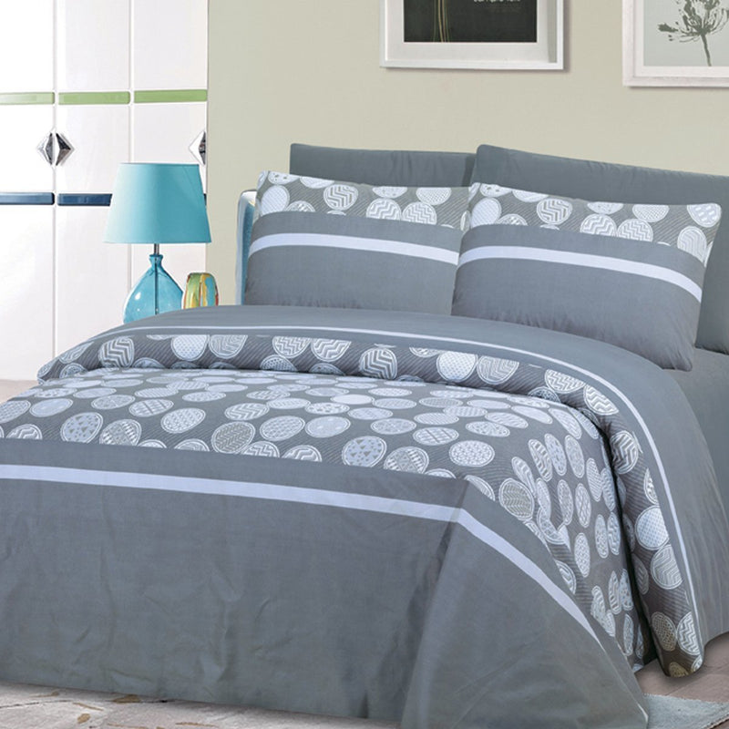 Huron 6 Piece Bedsheet Set - Wrinkle, Fade, and Stain Resistant with Deep Pocket - {product_type] | Grover Essentials