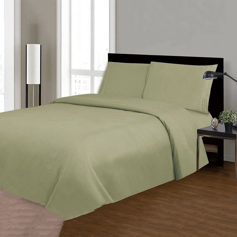 Royal Bamboo 3500 Egyptian Quality Deep Pocket 4-Piece Sheet Set - Solid Colors - {product_type] | Grover Essentials