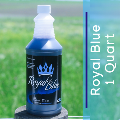 Royal Blue - Livestock Bluing Shampoo - 1 Quart
