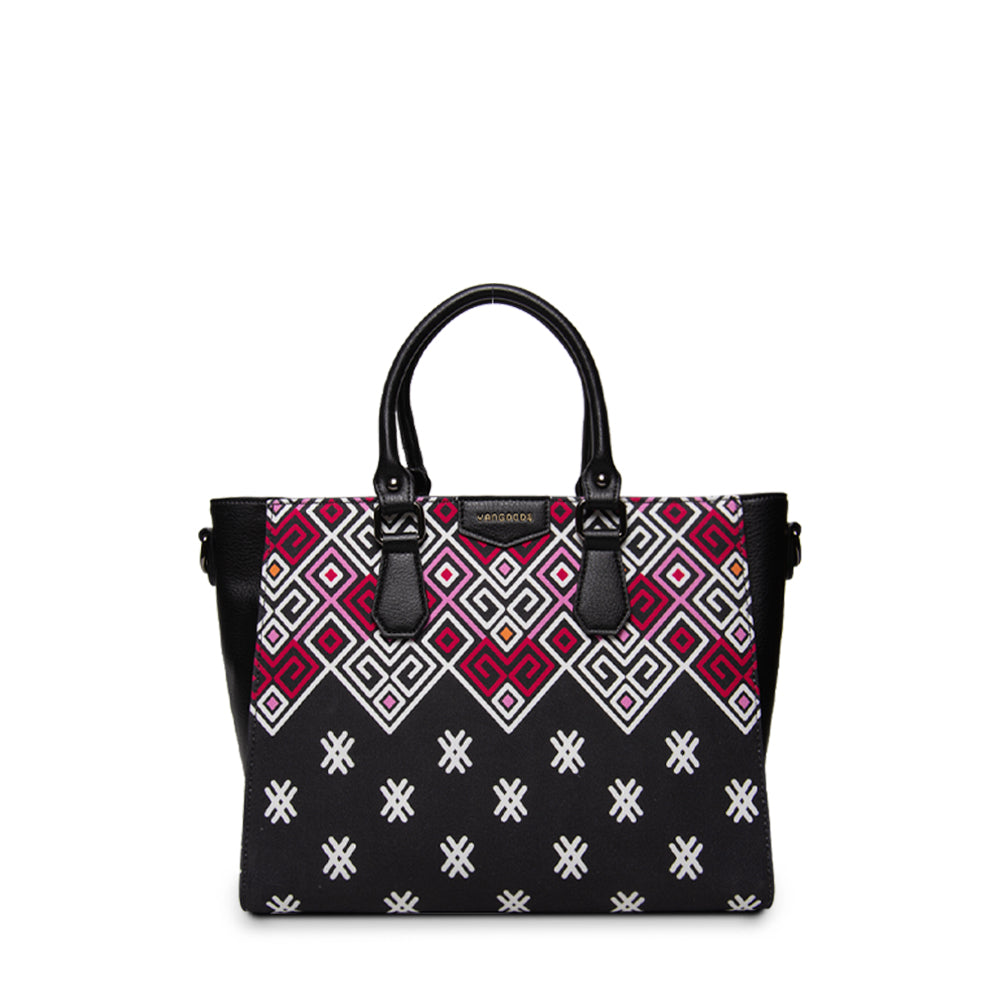 Maykha Black Big Tote Bag