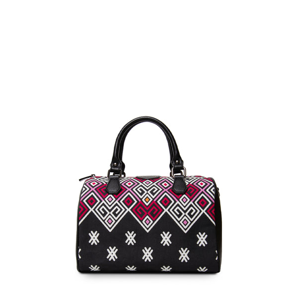 Maykha Black Boston Bag Bag