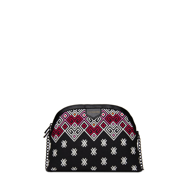Maykha Black Chain Cross Bag