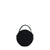 Thawun Jet Black Round Bag