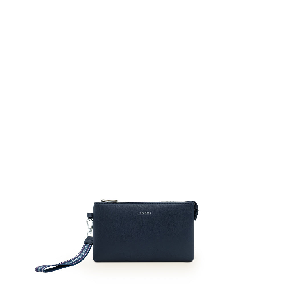 Mawkunn Classic Blue Wristlet Pouch