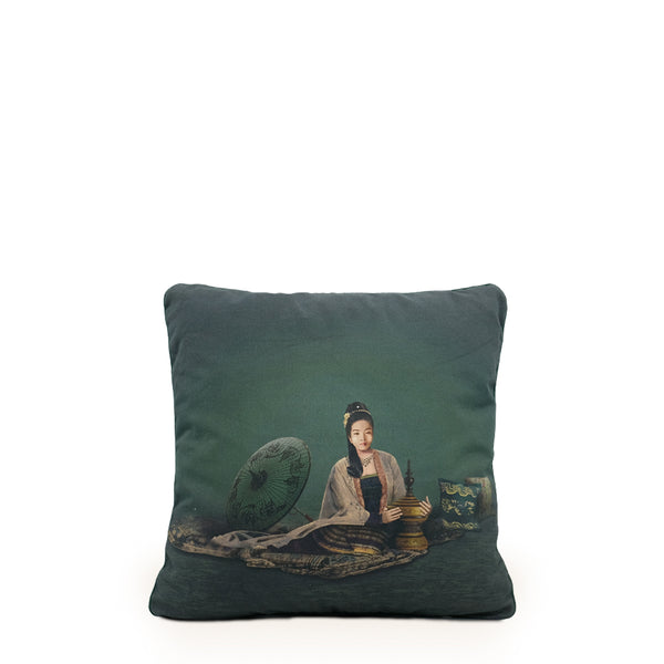 Kalayar Jade Cushion Cover