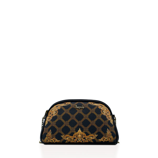 Regalia Onyx Mini Chain Cross Bag